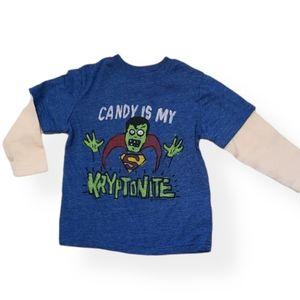 Junk Food Baby Gap Superman candy shirt